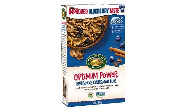 Organic Optimum Blueberry Cinnamon Flax Breakfast Cereal