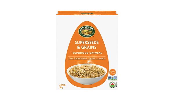 Organic Qi'a Hot Cereal - Superseeds & Grains