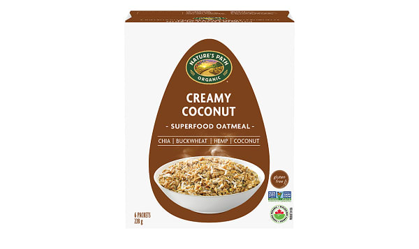 Organic Qi'a Hot Cereal - Creamy Coconut