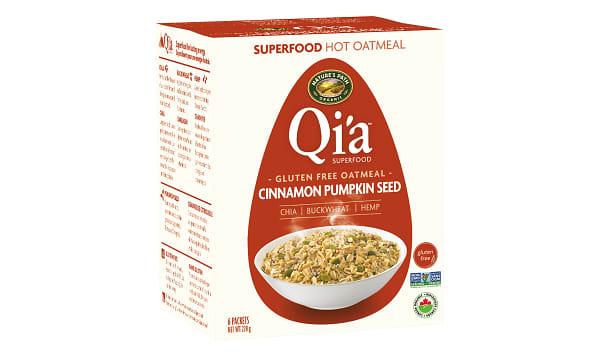 Organic Qi'a Hot Cereal - Cinnamon Pumpkin Seed