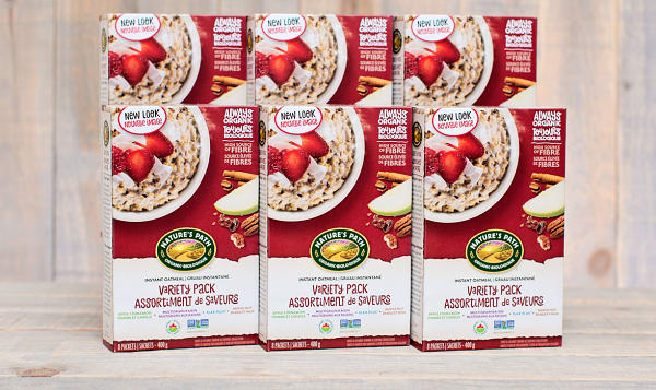 Organic Instant Oatmeal Variety Pack - CASE