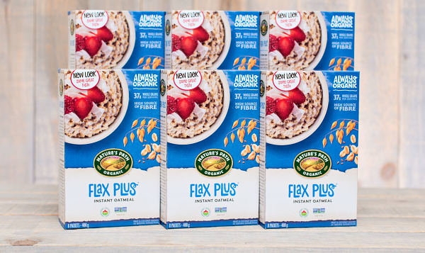 Organic Flax Plus Instant Hot Oatmeal - CASE