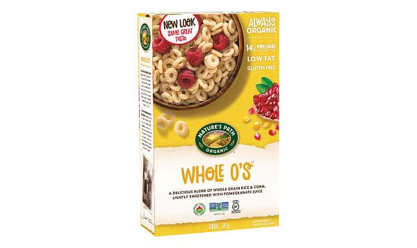 Organic Whole O's Cereal