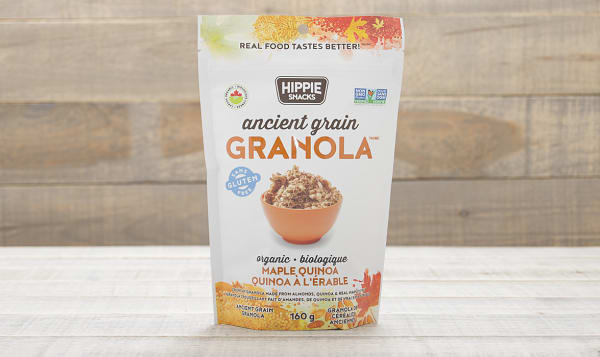 Organic Ancient Grain Maple Quinoa Granola