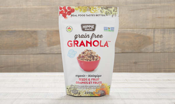 Organic Seeds & Fruit Granola