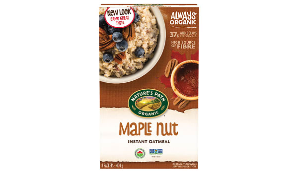 Organic Maple Nut Oatmeal