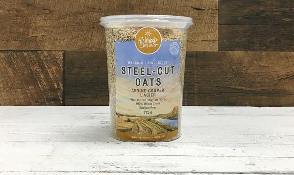 Organic Oats, Steel Cut