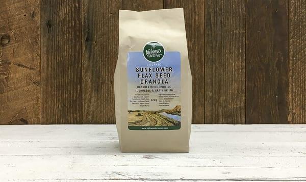 Organic Granola, Sunflower Flax Seed Small