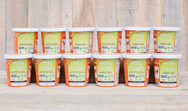 Organic Holy Crap Plus Single Serve Cup - CASE