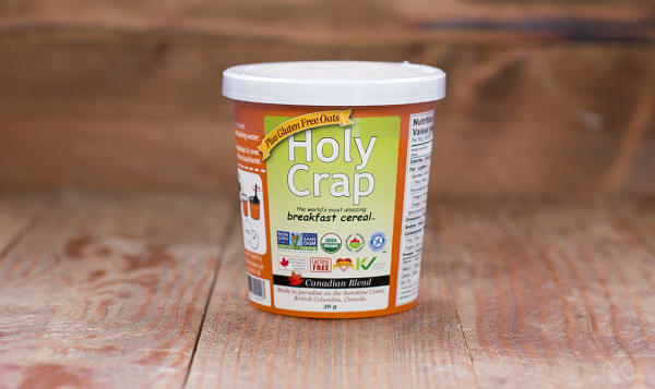 Organic Holy Crap Breakfast Cereal Canadian Blend Single Serve Cup