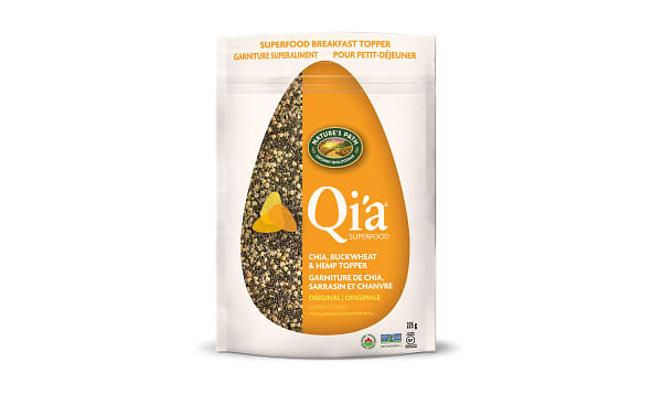 Organic Qi'a Superfood - Original Flavor - Chia, Buckwheat & Hemp Cereal