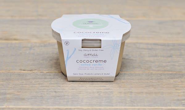 Cococreme Salted Vanilla Mousse (Frozen)