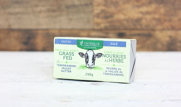 Salted Grass Fed Butter