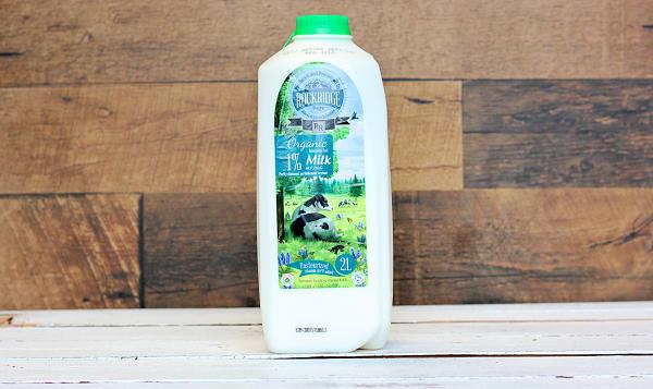 Organic 1% Jersey Cow Milk