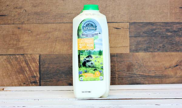 Organic 3.25% Jersey Cow Milk