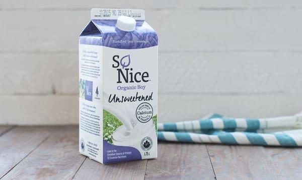 Unsweetened Fresh Soy Milk