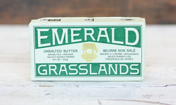 Organic Unsalted Grass Fed Butter