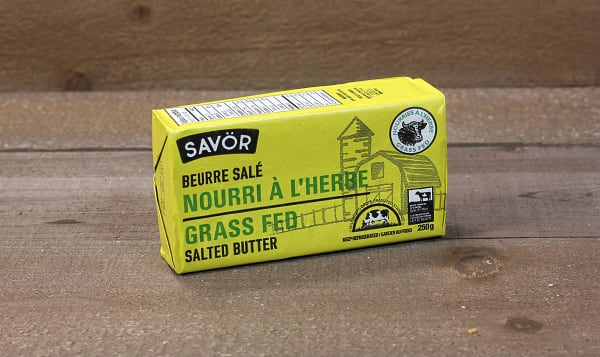 Grass Fed Salted Butter