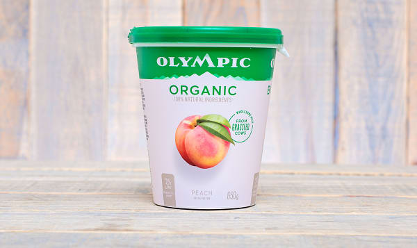 Organic Peach Yogurt - 2.9% MF