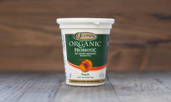 Organic Peach Yogurt - 2.9% MF