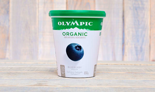 Organic Blueberry Yogurt - 2.9% MF