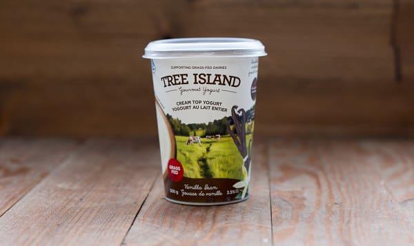 Cream Top Vanilla Bean Non-Homogenized, Grass Fed Yogurt