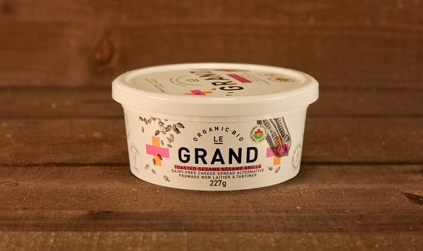 Organic Vegan Cheese Spread - Sesame