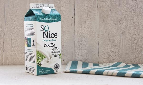 Organic Vanilla Enriched Fresh Soy Milk