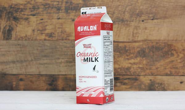 Organic Homogenized Milk