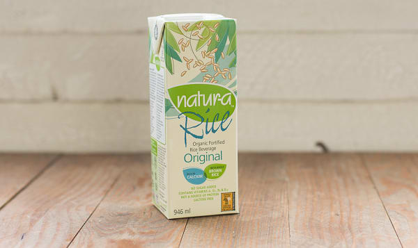 Organic Enriched Rice Beverage - Original