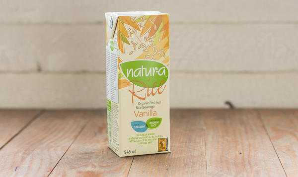 Organic Enriched Rice Beverage - Vanilla