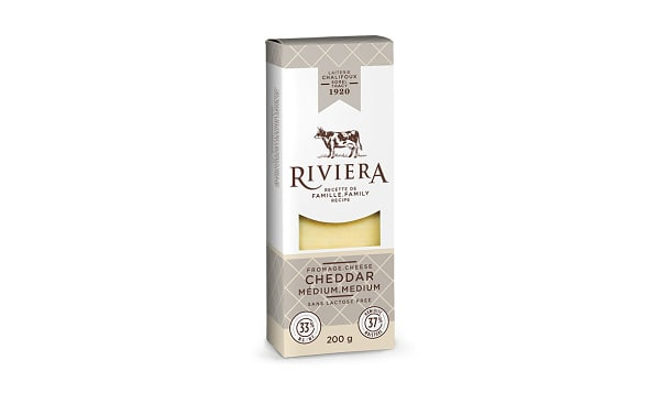 Medium White Cheddar Cheese, Lactose Free