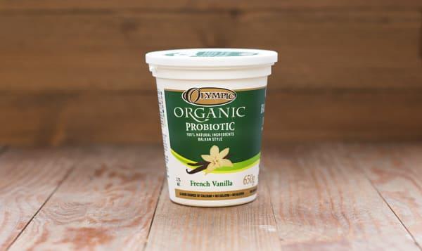 Organic French Vanilla Yogurt - 3.2% MF