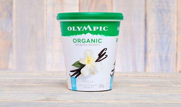 Organic French Vanilla Yogurt - 0% MF