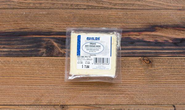 Organic Aged White Cheddar Cheese