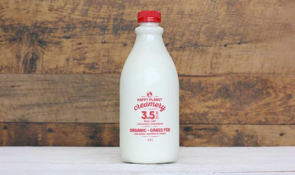 Organic 3.5% Grass-Fed Milk