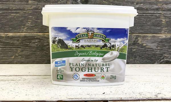 Organic Plain Yogurt