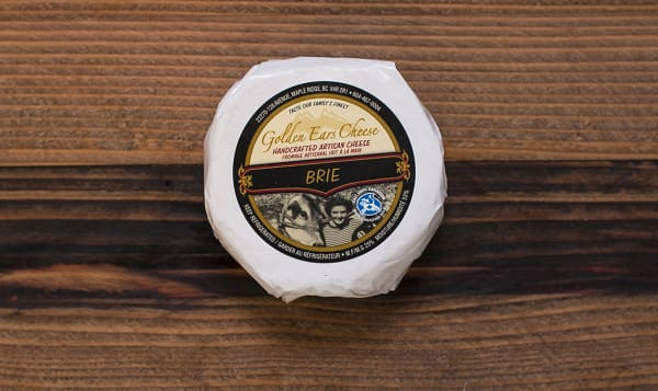Grass-fed Triple Cream Brie - Canadian Grand Prix Cheese Awards Finalist