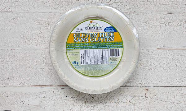 Gluten Free Pie Shells (Frozen)
