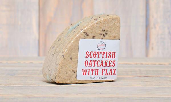 Scottish Oatcakes with Flax