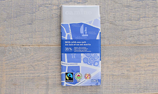 Organic Milk & Sea Salt Chocolate Bar
