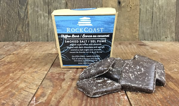 Smoked Salt Toffee Bark