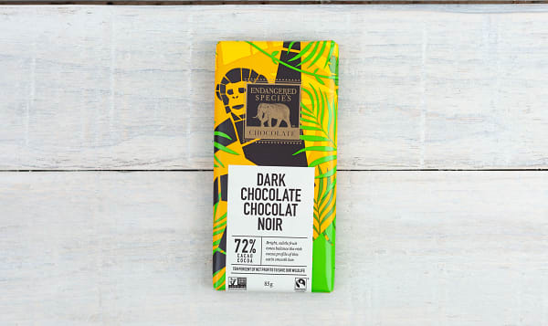 Chimpanzee Bar - 72% Cocoa Dark