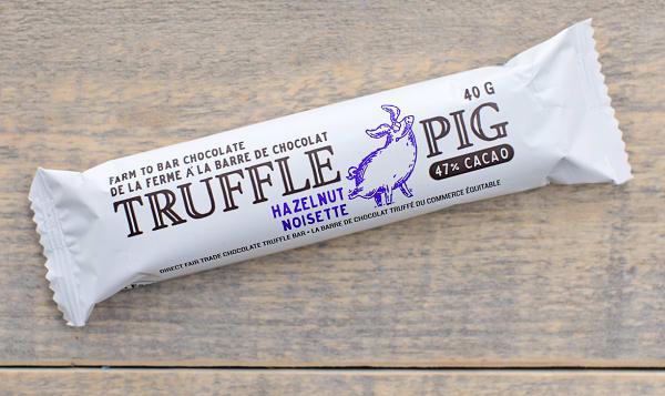 Truffle Pig Hazelnut Chocolate Bar
