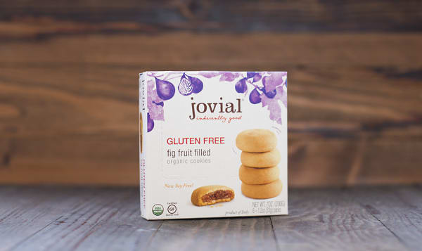 Organic Fig Fruit Filled Cookies