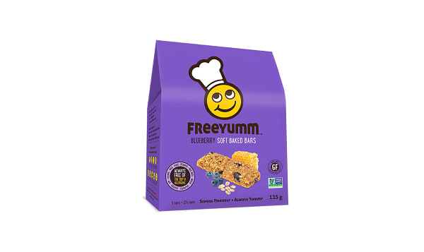 Blueberry Oat Bars - Free of the top 9 allergens!