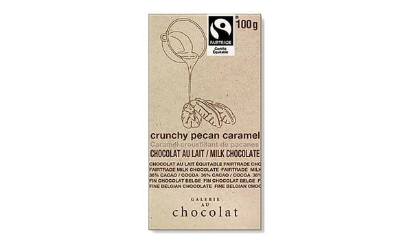 Organic Caramel Pecan Crunch Milk Bar