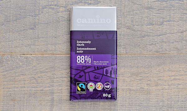 Organic Intensely Dark Chocolate Bar 88%