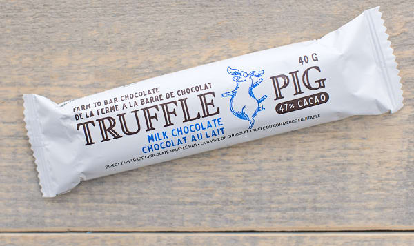 Truffle Pig Milk Chocolate Bar