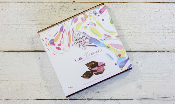 Salted Chocolate Caramels Gift Box